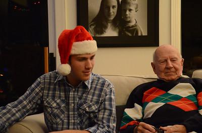 Christmas Eve , Walnut Creek, December 24, 2013
