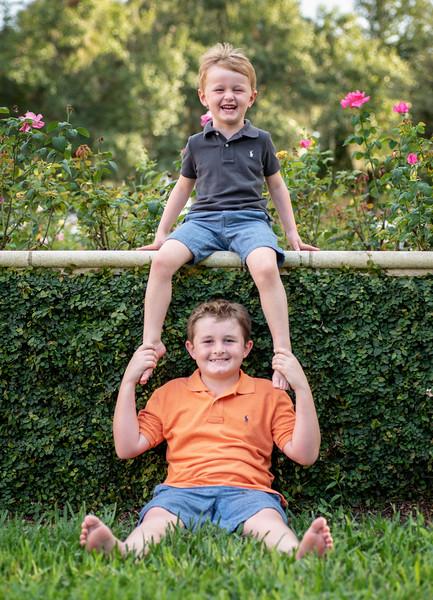 RiCharde Fairbanks boys at garden.jpg