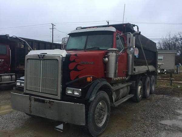 Jones Excavating Western Star Trade Truck