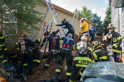 Highlands Ranch Trench Rescue