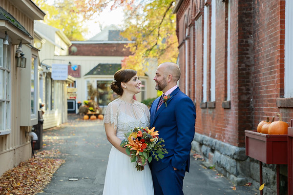Amber & Chris's Red Lion Inn Wedding