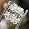 2.89ct Antique   Asscher Cut Diamond GIA I VS2 1
