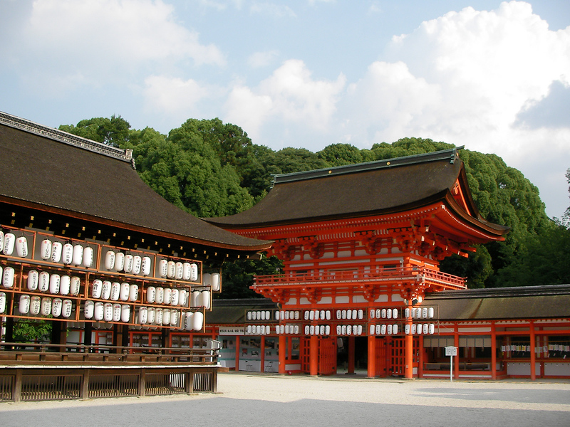 Shimogamo shrine. Editorial credit: beeboys / Shutterstock.com
