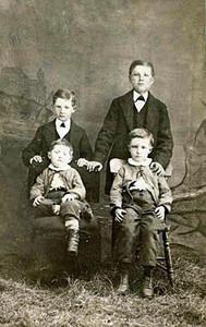 Sons of Fredrick and Augusta (Eisentraut) Herdrich