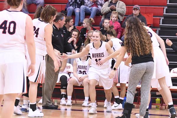 Varsity Girls Basketball vs Blair