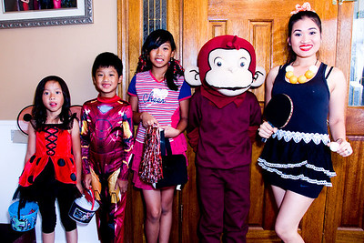 Trick or Treat:  October 31, 2013