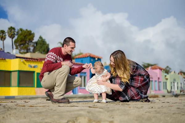 Kaelin + Jayson Family @ Capitola Beach