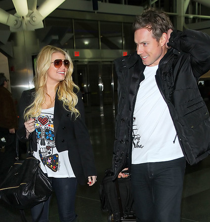 2010-12-01 - Jessica Simpson, Eric Johnson
