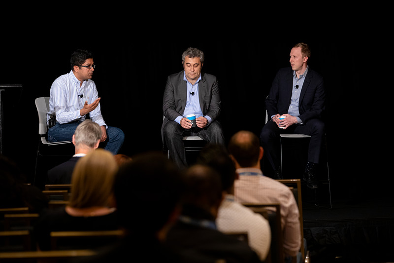 Intelligent RPA and Automation Stage	Herve Coureil, Chief Digital Officer, Schneider Electric, John Cottongim, Automation Director, Mars	PANEL of intelligent RPA customers: Major enterprises discuss the deployment challenges, opportunities and wins	Saurabh Gupta, Chief Straetgy Officer, HfS Research