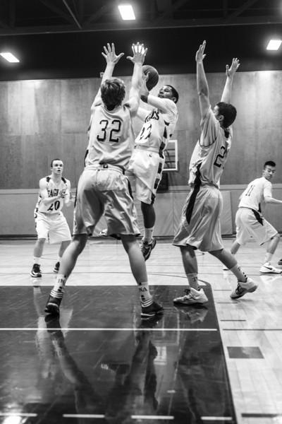 RCS Varsity Boys' Basketball - 12.17.1013