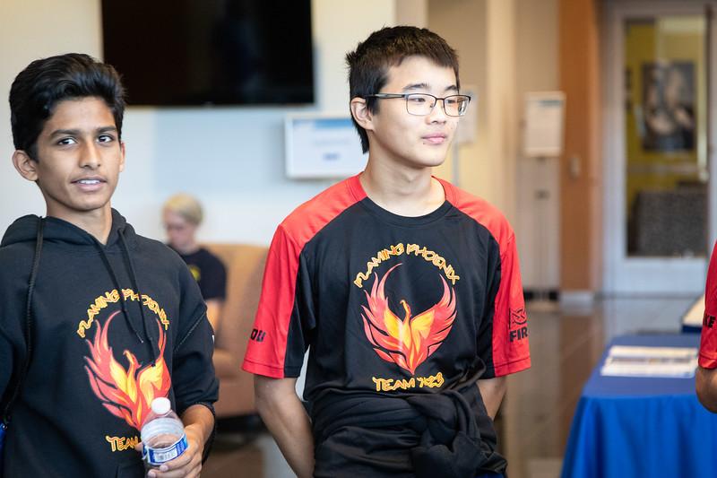 20180907 Flaming Phoenix FTC Season Kick-Off & Microsoft MTC
