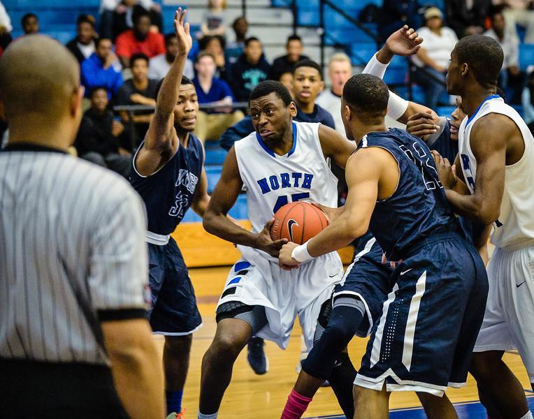 Basketball Boys Varsity vs  Lamar 01-21-14-10