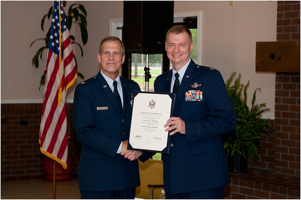 Colonel Red Millander's Retirement Ceremony