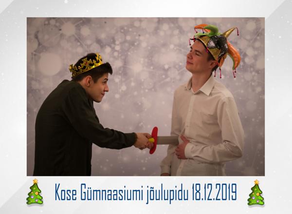Kose Gümnaasiumi jõulupidu 18.12.2019 Näited