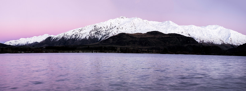 Dawn Light Over Mt. Aspiring