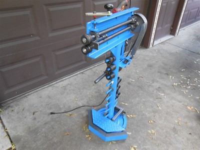 Harbor freight drill power bead roller