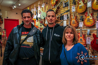 4/23/14 Sam Ash NYC Mark Tremonti Meet and greet