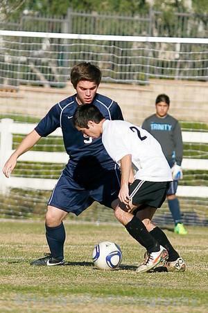20120208 - Varsity Boys Soccer v Newbury