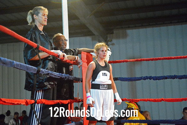 Bout #15  Ahara Archie (Empire Boxing Club) vs Katie Basch