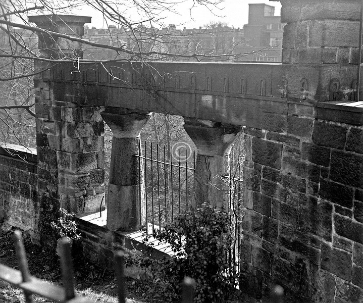 Some Thomson stonework at Kelvinside Terrace South.  