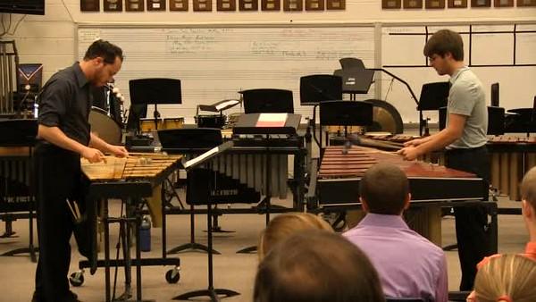 2012-05-04 Percussion Ensemble Videos