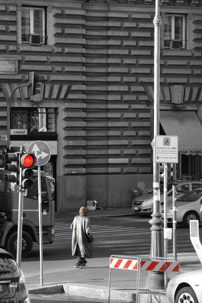 Crossing - Rome, Italy - November 6, 2010