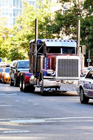 Filming Transformers 3 October 2010