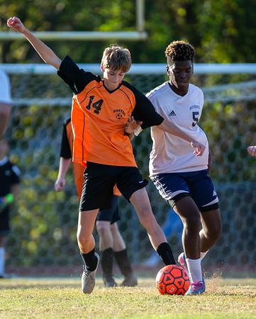 EHS Boys JV Soccer vs ND