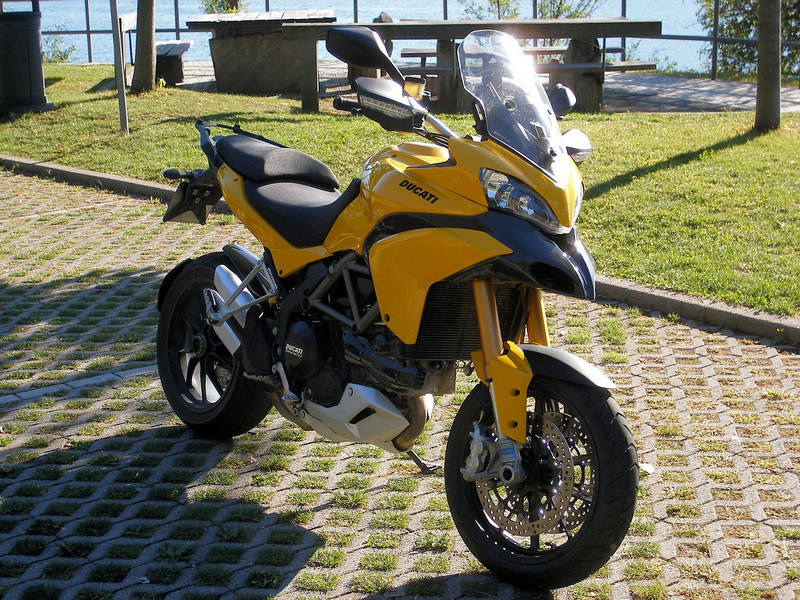 Yellow, yes YELLOW! Multistrada 1200