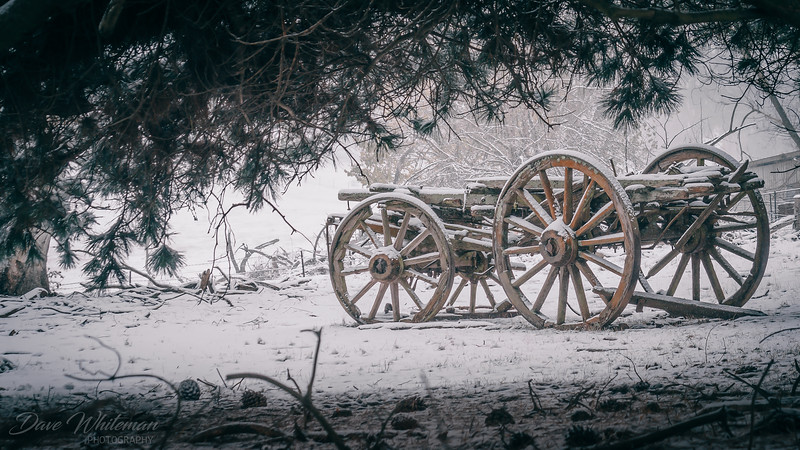 The Old Dray in Winter
