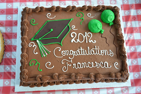 Francesca Scavetta's Graduation Party 07/15/12