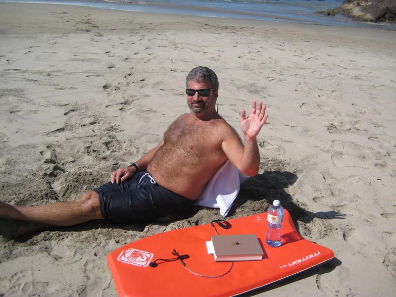 2007-12-1-0006-Las Alamandas in Jalisco, Mexico with Hahns-Private Beach-Eric.JPG