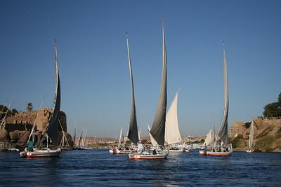 Felucca (Aswan to Kom Ombo) Egypt - December 2007
