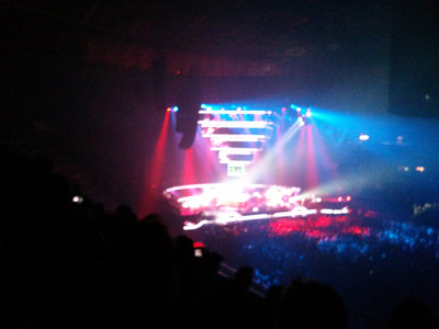 February 4 - Muse Second Law concert