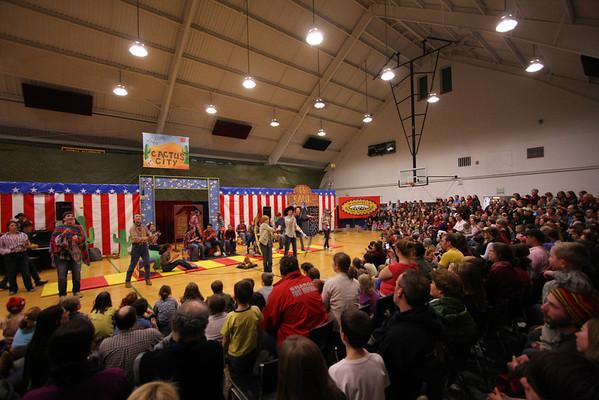 Sharon Academy Circus -2011