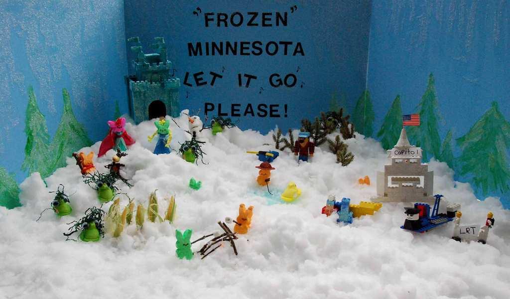 ". \""Frozen Minnesota,\"" by Kelly Staples"