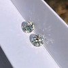 1.75ctw Old European Cut Diamond Pair, GIA J VS1/J VS1 10