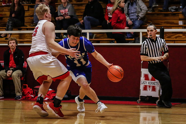 Jan 9 - VBB - Varsity vs Muenster