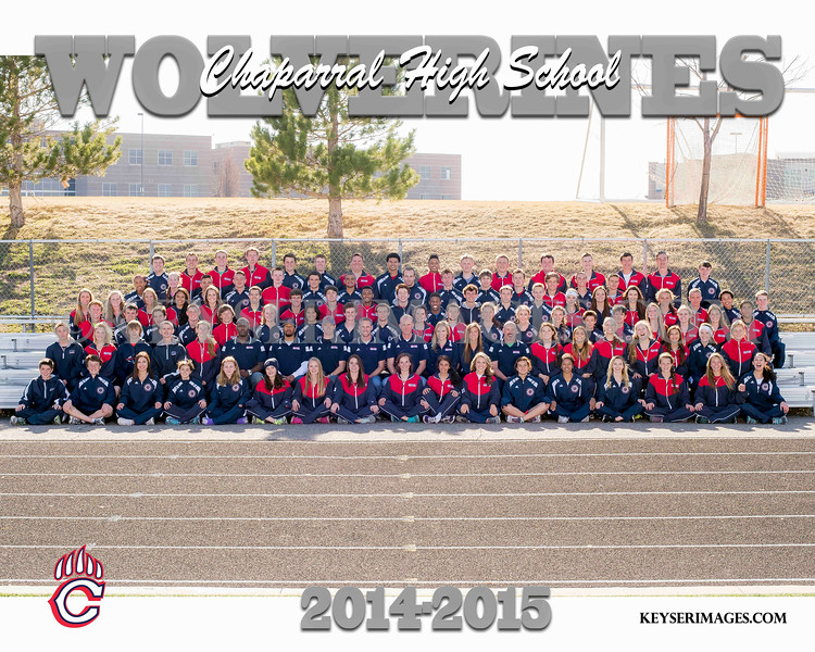 2014-15 Chaparral Track & Field
