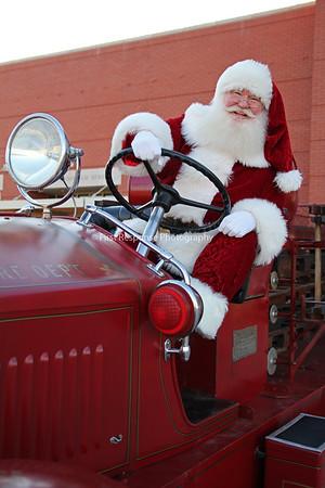 Firefighter Santa