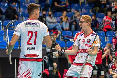 Unihockey Supercup Final: Floorball Köniz - UHC Alligator Malans