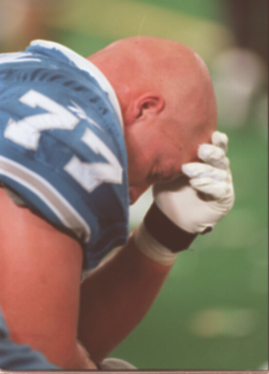. Detroit Lions guard Mike Compton reflects on another Lions lost. The Arizonia Cardinals beat the Detroit Lions 17-15 in the Pontiac Silverdome.