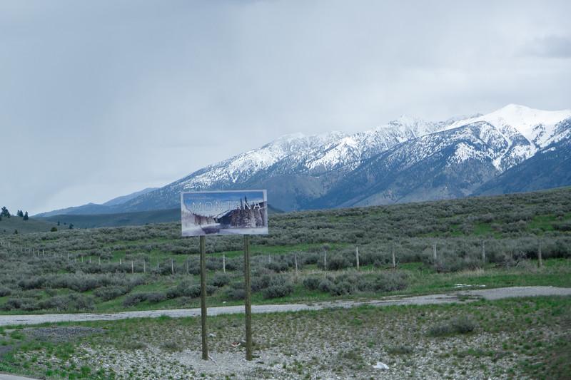 Idaho/Montana Border