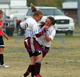 Teton Valley Girls Soccer #11 vs Shelley