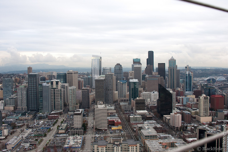 Downtown Seattle, From The Space Needle