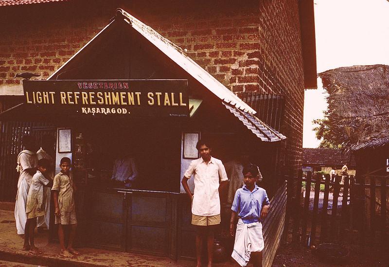Light Refreshment stall along railway
