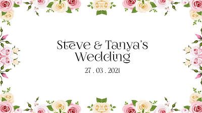 27.03 Steve & Tanya's Wedding