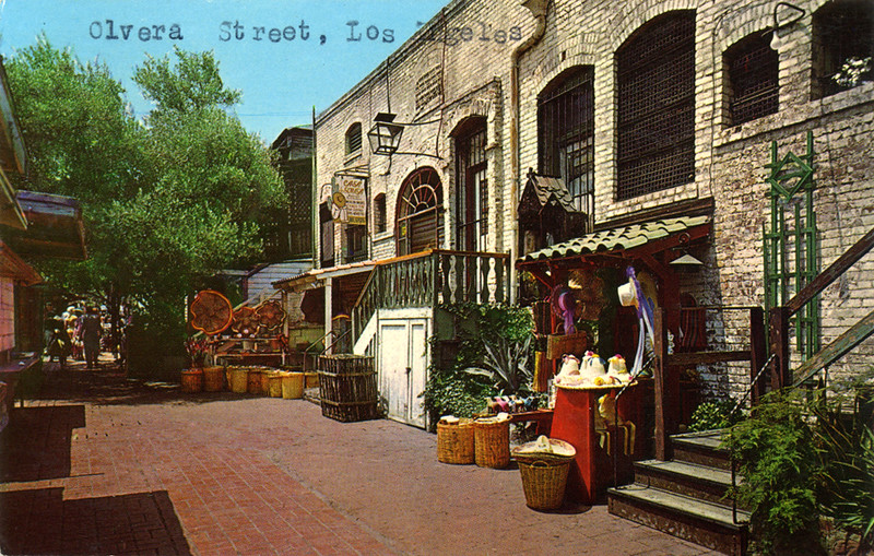 Early Olvera Street Buildings