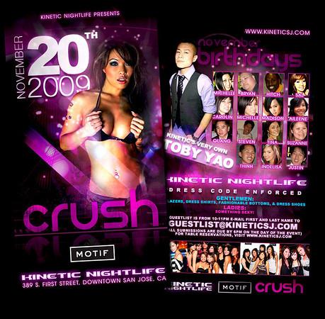 11/20 [Crush@Motif]