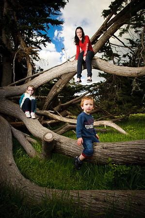 Carvill Grandparents and Grandkids (Family Photography, Lighthouse Field, Santa Cruz, California)
